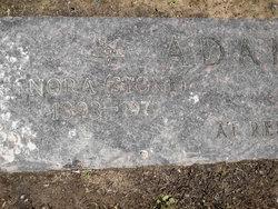 Nora E. <i>Stone</i> Adams