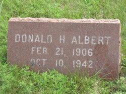 Donald H Albert