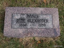Tlitha Jane <i>Brown</i> Alexander