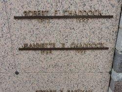 Jeanette E <i>Birge</i> Chaddock
