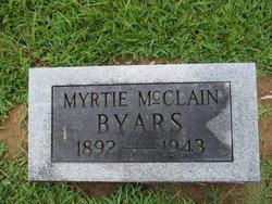 Myrtie O. <i>McClain</i> Byars