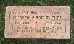 Elizabeth <i>Botz</i> McCune