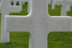 Pvt Peter L Braun