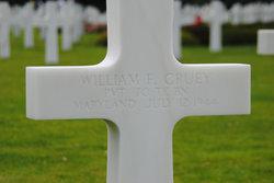 Pvt William F Cruey