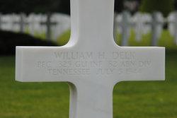 PFC William H Delk