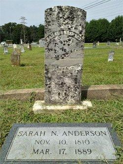 Sarah Jane <i>Nichols</i> Anderson