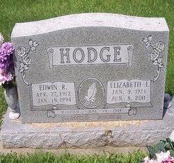 Mrs Elizabeth Irene <i>McClard</i> Hodge