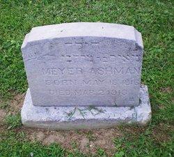 Meyer Ashman