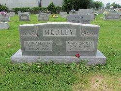 Mary Cecilia <i>O'Bryan</i> Medley