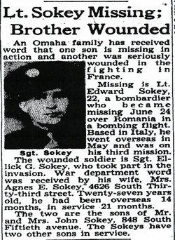 Lieut Edward J. Sokey