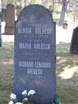 Maria Ahlbeck