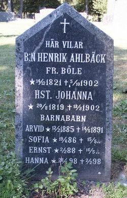 Johanna Ahlb�ck