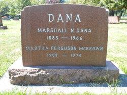 Martha <i>Ferguson</i> Dana