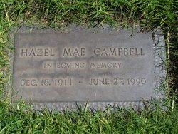 Hazel Mae <i>Young</i> Campbell