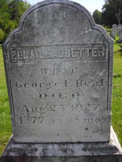 Ella <i>Leadbetter</i> Beal