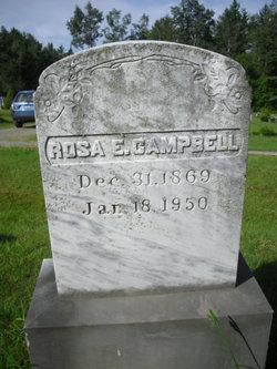 Rosa E <i>Campbell</i> Bubier