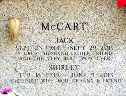 Shirley <i>Sumner</i> McCart