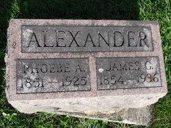Phoebe A <i>Burris</i> Alexander