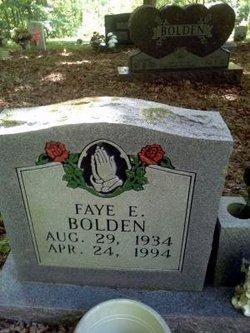 Faye E Bolden