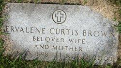 Ervalene <i>Curtis</i> Brown