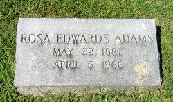 Rosa <i>Edwards</i> Adams