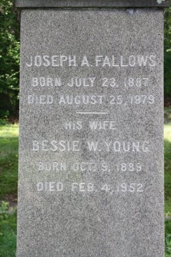 Bessie W. <i>Young</i> Fallows