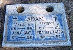 Francis Laid Adam