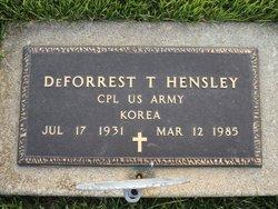 DeForrest T. Hensley