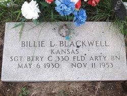 Sgt. Billie L. Blackwell