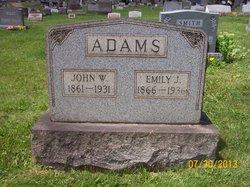Emily Jane <i>Karns</i> Adams