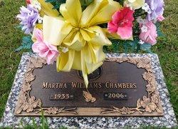 Martha <i>Williams</i> Chambers
