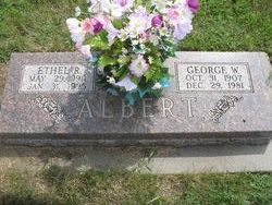 Ethel R Albert