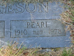 Pearl Rosamond <i>Hampton</i> Bergeson