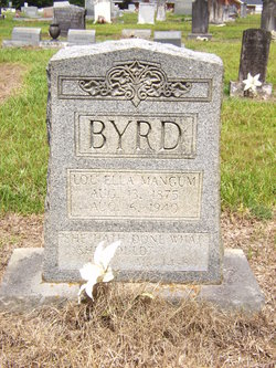 Lou Ella <i>Mangum</i> Byrd