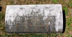 Mary Ann <i>Sullivan</i> Workman