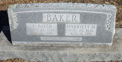 Harriett Amanda Mandy <i>Ford</i> Baker