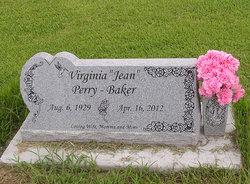 Virginia Jean <i>Dudley</i> Baker