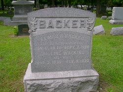 Capt Elmer R Backer
