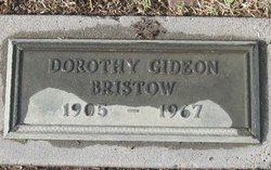 Dorothy <i>Gideon</i> Bristow