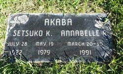 Annabel <i>Read</i> Akaba