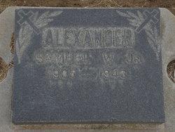 Samuel Warren Alexander, Jr