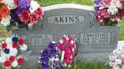 Christine <i>Cox</i> Akins