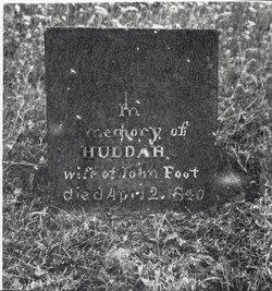 Huldah <i>Rossiter</i> Foote