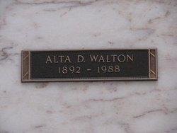Altagracia Dolores Alta <i>Baca</i> Walton