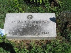 Sgt Howard H. Johnson