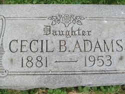 Cecil B. Adams