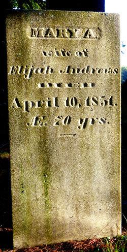 Mary A. <i>Stone</i> Andrews