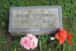 Mayme <i>Sanders</i> Appleman