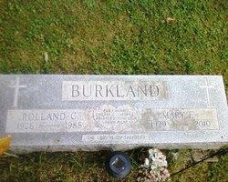Mary E Burkland
