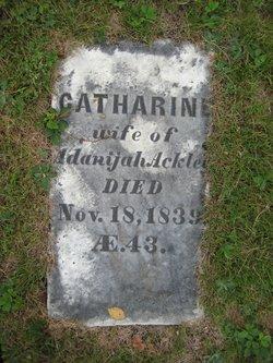 Catherine <i>Davis</i> Ackley